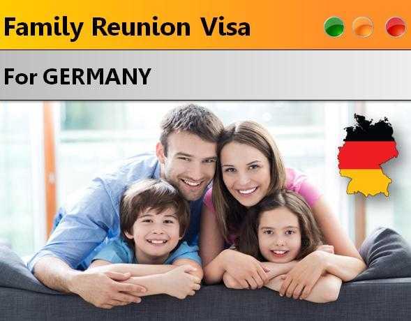 Applying for Family Reunion Visa for Germany
